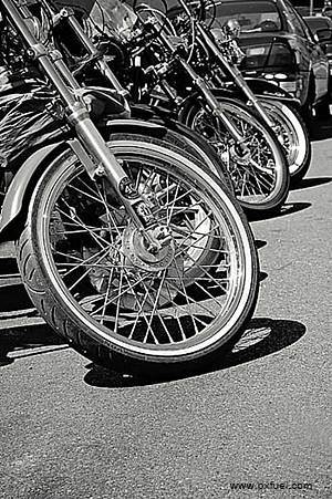 motorcycle spokes