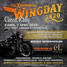 The X Memorial Wingday 2K20
